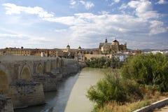 Η παλαιοί πόλη και ο «καθεδρικός ναός το Mosque†του rdoba Cà ³ στοκ εικόνα
