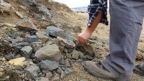 Η παλαιοντολογία σκάβει την απολιθωμένες ανασκαφή και την εξαγωγή απόθεμα βίντεο