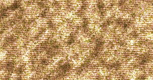 Η περίληψη, ακτινοβολεί άνευ ραφής βρόχος σχεδίων μορίων πυράκτωσης χρυσός, χρυσή λαμπρή σύσταση σπινθηρίσματος απεικόνιση αποθεμάτων