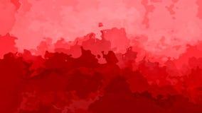 Η περίληψη ζωντάνεψε το λεκιασμένο υποβάθρου άνευ ραφής κόκκινο και ρόδινο χρώμα φραουλών βρόχων τηλεοπτικό διανυσματική απεικόνιση