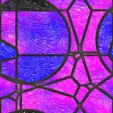 Η περίληψη λεκίασε τη γυαλί/μέταλλο σχάρα Απεικόνιση αποθεμάτων