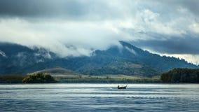 Η περίοδος βροχών στην Ασία στοκ φωτογραφία