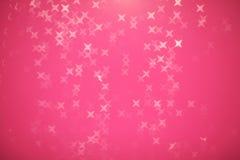 Η περίληψη ακτινοβολεί εορταστική σύσταση Χριστουγέννων με τα λάμποντας αστέρια ο Στοκ Εικόνα