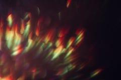 Η περίληψη που θολώνεται λάμπει υπόβαθρο, ζωηρόχρωμη φλόγα Στοκ φωτογραφία με δικαίωμα ελεύθερης χρήσης
