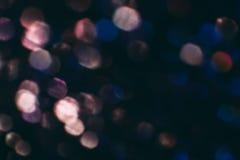 Η περίληψη που θολώνεται ακτινοβολία λάμπει, μπλε και ροζ Στοκ Εικόνες