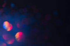 Η περίληψη που θολώνεται ακτινοβολία λάμπει υπόβαθρο Στοκ Εικόνες
