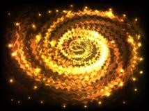 Η περίληψη χρωμάτισε το διανυσματικό υπόβαθρο στροβίλου διανυσματική απεικόνιση