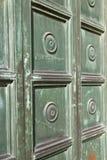 Η περίληψη arsizio Busto έκλεισε το ξύλινο ι Λομβαρδία Στοκ Εικόνα