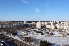 Η περιοχή η ανατολή στο Μινσκ στοκ εικόνες
