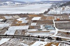 η περιοχή κοντά να κάνει σκι Ελβετία πανοράματος στο χειμώνα Στοκ φωτογραφίες με δικαίωμα ελεύθερης χρήσης