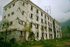 Η περιοχή σεισμού στο Γυμνάσιο Xuan Kou Στοκ Εικόνα
