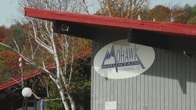 Η περιοχή σκι βουνών Mohawk κατοικεί (1 3) απόθεμα βίντεο
