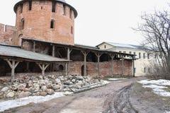 Η περιοχή του Κρεμλίνου στην αποκατάσταση Στοκ φωτογραφίες με δικαίωμα ελεύθερης χρήσης