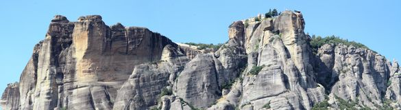 Η περιοχή Meteora Στοκ Εικόνες