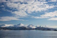 Η περιοχή Troms, Νορβηγία στοκ φωτογραφία