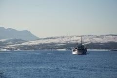 Η περιοχή Troms, Νορβηγία στοκ εικόνες με δικαίωμα ελεύθερης χρήσης