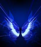 Η πεταλούδα με λάμπει Στοκ Φωτογραφίες