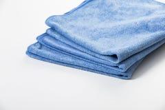 Η πετσέτα Microfiber για το αυτοκίνητο σκουπίζει Στοκ Φωτογραφίες