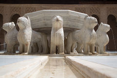 Η πηγή λιονταριών Στοκ Φωτογραφίες