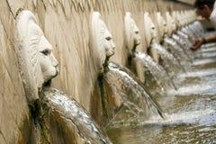 Η πηγή λιονταριών Στοκ Εικόνες