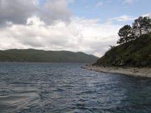 Η πηγή του ποταμού Angara Στοκ φωτογραφία με δικαίωμα ελεύθερης χρήσης