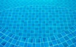 Η πισίνα με τα τυρκουάζ μπλε κεραμίδια μπορεί να μας χρησιμοποιηθεί υπόβαθρο Στοκ φωτογραφία με δικαίωμα ελεύθερης χρήσης