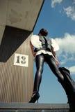 η πλάτη αγγέλου έρχεται π&epsilon Στοκ εικόνα με δικαίωμα ελεύθερης χρήσης