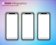 Η πλήρης οικογένεια συσκευών επόμενης γενιάς περιέλαβε τα κινητά τηλέφωνα, τ απεικόνιση αποθεμάτων