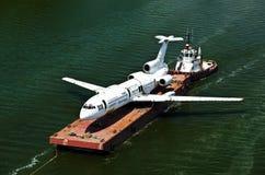 η πλατφόρμα αεροπλάνων Στοκ Εικόνες