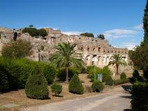 η Πομπηία καταστρέφει το η&phi Στοκ φωτογραφίες με δικαίωμα ελεύθερης χρήσης