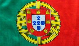 Η πορτογαλική εικόνα σημαιών ακόμα βλέπει άνωθεν Στοκ φωτογραφία με δικαίωμα ελεύθερης χρήσης