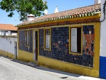 Η Πορτογαλία, Viana κάνει το Αλεντέιο, άποψη του παλαιού σπιτιού Στοκ εικόνα με δικαίωμα ελεύθερης χρήσης