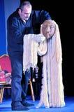 Η πορτογαλική μαριονέτα παρουσιάζει Στοκ εικόνα με δικαίωμα ελεύθερης χρήσης