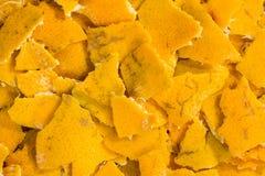 Η πορτοκαλιά φλούδα Στοκ φωτογραφία με δικαίωμα ελεύθερης χρήσης