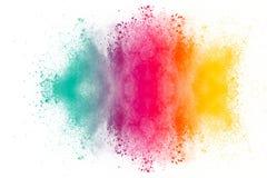 Η πολύχρωμη σκόνη Στοκ Φωτογραφίες
