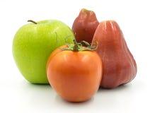 Η πράσινη Apple και αυξήθηκε Apple Στοκ Φωτογραφία