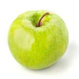 Η πράσινη Apple στο λευκό Στοκ εικόνες με δικαίωμα ελεύθερης χρήσης