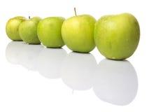 Η πράσινη Apple IV Στοκ Εικόνα