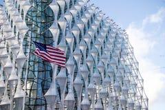 Η πρεσβεία των Ηνωμένων Πολιτειών της Αμερικής στο Λονδίνο στοκ εικόνα με δικαίωμα ελεύθερης χρήσης