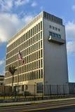 Η πρεσβεία των Ηνωμένων Πολιτειών της Αμερικής στην Αβάνα Στοκ φωτογραφία με δικαίωμα ελεύθερης χρήσης