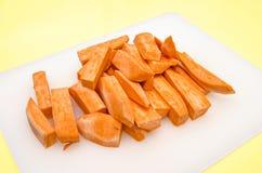 Η προετοιμασία του γλυκού potatoe πελεκά 7 στοκ φωτογραφίες με δικαίωμα ελεύθερης χρήσης