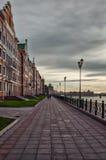 Η προκυμαία πόλη της Μπρυζ, Yoshkar-Ola, Ρωσία Στοκ φωτογραφίες με δικαίωμα ελεύθερης χρήσης