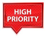 Η προτεραιότητα misty αυξήθηκε ρόδινο κουμπί εμβλημάτων απεικόνιση αποθεμάτων