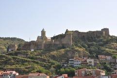 Η πρωτεύουσα της Γεωργίας είναι Tbilisi Στοκ Εικόνες