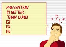 Η πρόληψη κειμένων γραφής είναι καλύτερη από τη θεραπεία Η έννοια που σημαίνει την ασθένεια είναι αποτρέψιμη εάν προσδιορίζεται ν απεικόνιση αποθεμάτων