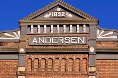 19η πρόσοψη οικοδόμησης αιώνα Στοκ Εικόνα