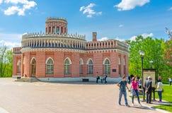 Η πρόσοψη του κτηρίου ιππικού Στοκ φωτογραφίες με δικαίωμα ελεύθερης χρήσης