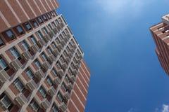 Η πρόσοψη του κτηρίου Στοκ εικόνα με δικαίωμα ελεύθερης χρήσης