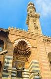 Η πρόσοψη του μουσουλμανικού τεμένους Στοκ Φωτογραφίες