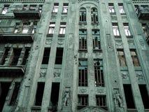 Η πρόσοψη του παλαιού κτηρίου Στοκ φωτογραφία με δικαίωμα ελεύθερης χρήσης